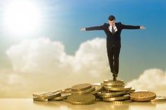 Het beheer van het risico Stock Afbeelding