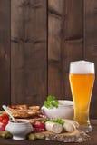 Het Beierse Ontbijt van de Kalfsvleesworst Royalty-vrije Stock Fotografie
