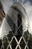 Het bekijken omhoog de Augurk Londen stock afbeelding