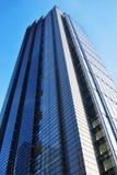 Het bekijken omhoog een Wolkenkrabber in Londen Royalty-vrije Stock Fotografie
