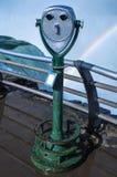 Het bekijken van Platform bij Niagara Falls Stock Foto