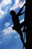 Het beklimmen stock afbeelding