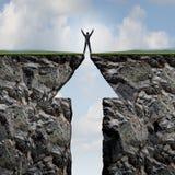 HET BEKLIMMEN AAN SUCCES vector illustratie
