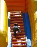 Het beklimmen tot de bovenkant Stock Foto