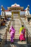 Het beklimmen tot de tempel royalty-vrije stock foto