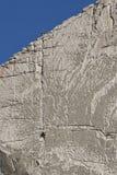 Het beklimmen van de muur. Royalty-vrije Stock Foto
