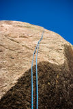Het beklimmen van kabel royalty-vrije stock afbeelding