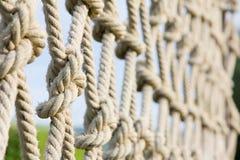 Het beklimmen van kabels Stock Fotografie