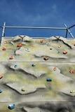 Het beklimmen van muur Royalty-vrije Stock Fotografie