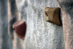 Het beklimmen van muur Stock Afbeeldingen