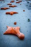 Het beklimmen van Muur Stock Afbeelding
