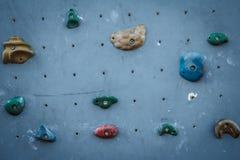 Het beklimmen van Muur Stock Foto