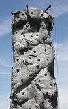 Het beklimmen van Muur. Royalty-vrije Stock Afbeelding