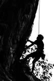 Het beklimmen van rots Royalty-vrije Stock Foto