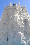 Het beklimmen van rotsmuur Stock Foto's