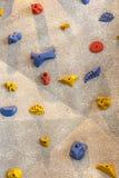 Het beklimmen van rotsmuur Royalty-vrije Stock Afbeelding