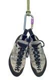 Het beklimmen van schoenen Royalty-vrije Stock Afbeelding