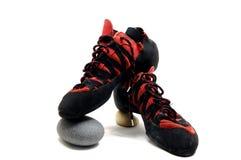 Het beklimmen van schoenen Royalty-vrije Stock Fotografie