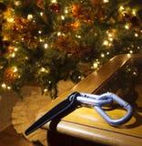 Het beklimmen van toestel bij Kerstmis Stock Fotografie