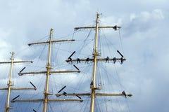 Het beklimmen van zeelieden Royalty-vrije Stock Afbeelding