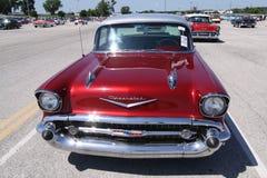 Het Bel Air 1957 van Chevrolet Stock Afbeeldingen
