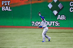Het belangrijke Honkbal van de Liga: Kosuke Fukudome Stock Foto's