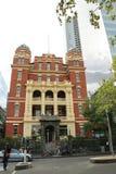 Het belangrijkste paviljoen van de vroegere Koningin Victoria Hospital, in Lonsdale-Straat, is nu de Koningin Victoria Womens Cen stock fotografie