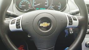 Het belangrijkste wiel van de auto Stock Afbeelding