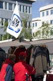 Het belastingvrije winkelen in Tromso stock foto