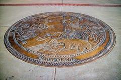 Het beleidscentrum in het Kapitaal van de Staat van Sacramento, Californië stock fotografie