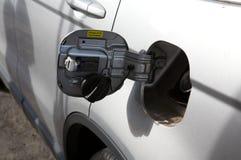 Het benzinestation van de benzine Stock Afbeeldingen