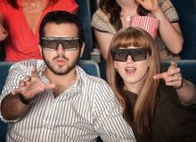 Het Bereik van mensen uit voor 3D Stock Afbeeldingen