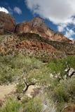 Het bergachtige terrein in Utah, de V.S. Stock Foto