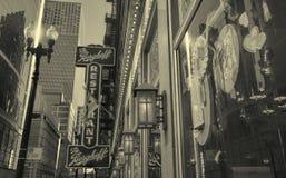 Het Berghoff-Restaurant in Chicago Van de binnenstad Stock Afbeeldingen