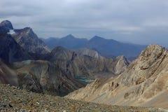 Het bergmeer Stock Fotografie