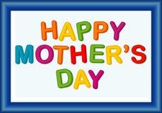 Het bericht van de moederdag Stock Afbeelding