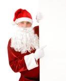 Het bericht van Kerstmis Stock Afbeelding