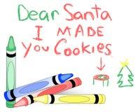 Het Bericht van Kerstmis vector illustratie