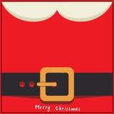 Het berichtkaart van de kerstman Royalty-vrije Stock Foto