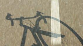 Het berijden van een fiets