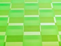 Het berijpte Schaakbord van het Glas in Groene Kalk Stock Foto