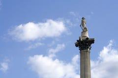 Het beroemde belangrijkste voorwerp van Vierkant Trafalgar in Lond Royalty-vrije Stock Afbeelding