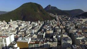Het beroemde Copacabana-strand in Rio de Janeiro Brazilië Zuid-Amerika stock videobeelden