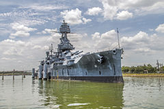 Het beroemde Dreadnought-Slagschip royalty-vrije stock foto