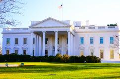 Het beroemde gebouw in de V.S. Amerika, het Witte Huis stock afbeelding