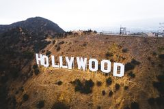 Het beroemde hollywoodteken royalty-vrije stock foto