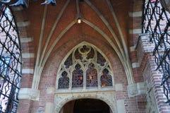 Het beroemde het kasteeldetail van DE Haar royalty-vrije stock afbeelding