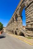 Het beroemde oude aquaduct in Segovia Royalty-vrije Stock Fotografie