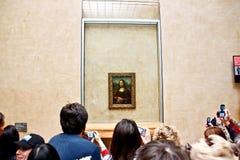 Het beroemde schilderen Monalisa 2 Royalty-vrije Stock Foto