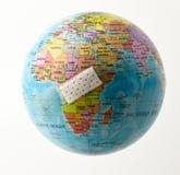 Het beschermen van Afrika Royalty-vrije Stock Afbeelding